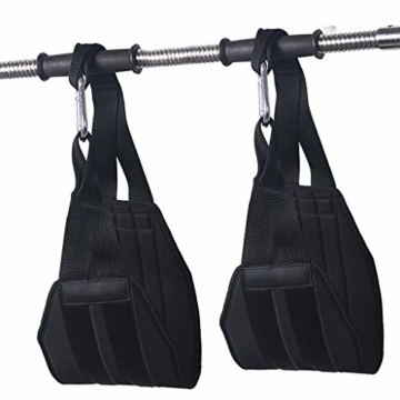 Vxhohdoxs Herren Damen Fitness Armpolster hängendes AB Sling Strap für Pull-Up BH Workout für Krafttraining, Powerlifting, Bodybuilding, Gymnastik, Workout - 2