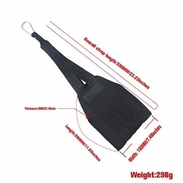 Vxhohdoxs Herren Damen Fitness Armpolster hängendes AB Sling Strap für Pull-Up BH Workout für Krafttraining, Powerlifting, Bodybuilding, Gymnastik, Workout - 5