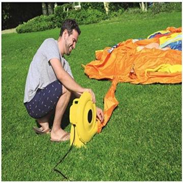 WJSW aufblasbare Spielwaren Sommer-übergroße Wasserrutsche-aufblasbarer Swimmingpool, Baby-Planschbecken-Ozean-Ball-Pool-im Freien surfendes Windsurfen, 365 * 320 * 270cm A - 3