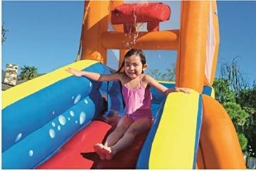 WJSW aufblasbare Spielwaren Sommer-übergroße Wasserrutsche-aufblasbarer Swimmingpool, Baby-Planschbecken-Ozean-Ball-Pool-im Freien surfendes Windsurfen, 365 * 320 * 270cm A - 7
