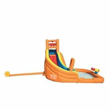 WJSW aufblasbare Spielwaren Sommer-übergroße Wasserrutsche-aufblasbarer Swimmingpool, Baby-Planschbecken-Ozean-Ball-Pool-im Freien surfendes Windsurfen, 365 * 320 * 270cm A - 9