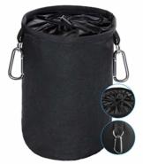 XCOZU Wäscheklammer Beutel zum Aufhängen, Klammerbeutel Wasserdicht mit 2 Kleiderbügel Clips hält Pegs sauber und trocken für Indoor Outdoor Pegs Organizer Lagerung verwenden - 1
