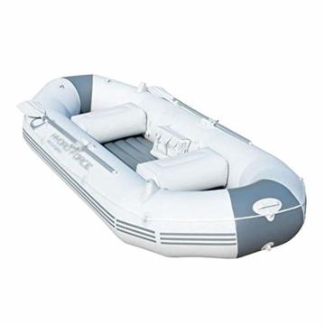 ZHAOJCQC Aufblasbare Kayaking 3 Personen Dickes Schlauchboot Gummiboot Fischerboot Wasserdichte Aluminiummasse - 2