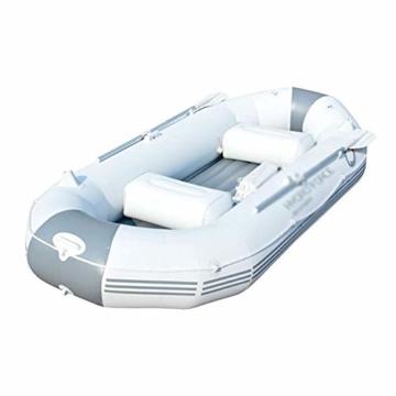 ZHAOJCQC Aufblasbare Kayaking 3 Personen Dickes Schlauchboot Gummiboot Fischerboot Wasserdichte Aluminiummasse - 1