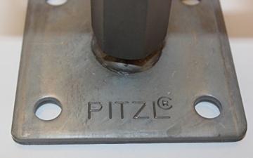 1 Stück Pitzl Pfostenträger Typ - P-Junior -ZiNiP höhenverstellbar, Nutzungsklasse 3 - 2