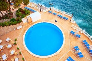 2K Poolfarbe Poolbeschichtung Schwimmbadfarbe - Hellelfenbein wie RAL 1015-2,5Kg - 5