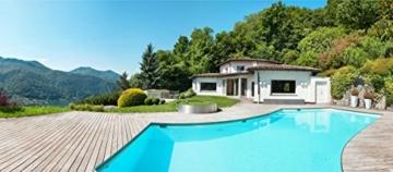 2K Poolfarbe Poolbeschichtung Schwimmbadfarbe - Hellelfenbein wie RAL 1015-2,5Kg - 6