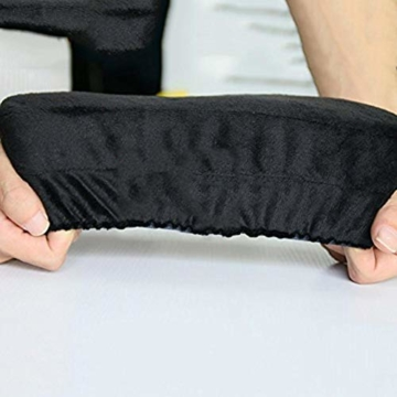 Arm-Eaz Armlehnen Polster für Bürostuhl und Spielstuhl, Memory-Schaum Armlehne Pads Arbeitsplatz Schreibtischstuhl Armlehnen Kissen für Ellenbogen Komfort - 5