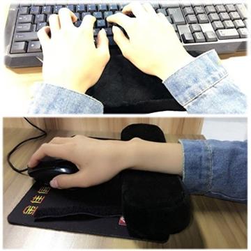 Arm-Eaz Armlehnen Polster für Bürostuhl und Spielstuhl, Memory-Schaum Armlehne Pads Arbeitsplatz Schreibtischstuhl Armlehnen Kissen für Ellenbogen Komfort - 6