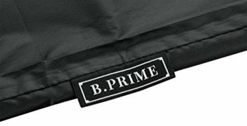 B.PRIME Schutzhülle für Sonnenschirme mit 280cm bis 350cm Durchmesser - Abdeckhaube H228cm x B30/45cm - Wasserdicht atmungsaktiv und UV-stabilisiert - Premium Abdeckung 210D Polyester Oxford Gewebe - 3
