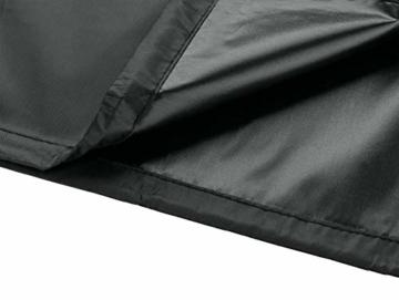 B.PRIME Schutzhülle für Sonnenschirme mit 280cm bis 350cm Durchmesser - Abdeckhaube H228cm x B30/45cm - Wasserdicht atmungsaktiv und UV-stabilisiert - Premium Abdeckung 210D Polyester Oxford Gewebe - 4