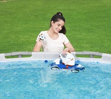 Bestway Flowclear akkubetriebener, automatischer Poolsauger Aquatronix für Poolgrößen bis 45 m² - 2