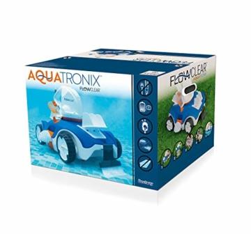 Bestway Flowclear akkubetriebener, automatischer Poolsauger Aquatronix für Poolgrößen bis 45 m² - 3