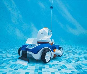 Bestway Flowclear akkubetriebener, automatischer Poolsauger Aquatronix für Poolgrößen bis 45 m² - 7