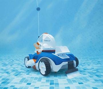 Bestway Flowclear akkubetriebener, automatischer Poolsauger Aquatronix für Poolgrößen bis 45 m² - 9