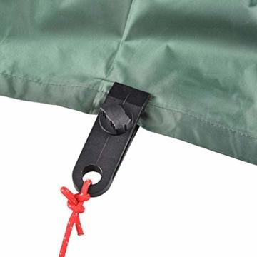 Campingzelt Clip 20 stücke, Mini Feste Zelt Snaps Im Freien Markise Plane Clips Haken Schnalle Kleiderbügel(20Pcs) - 4