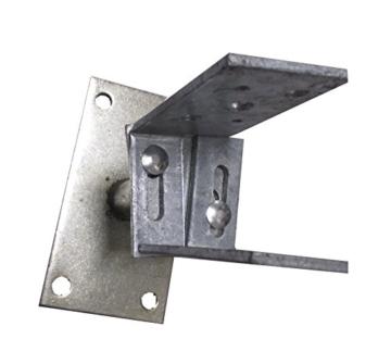 Connex Pfostenträger verstellbar 80-150 mm, feuerverzinkt, HV4270 - 3