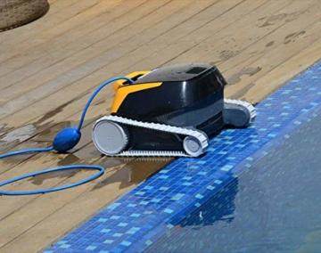 Dolphin E25 Automatischer Schwimmbad-Reinigungsroboter. Handlicher, leichter und einfach zu reinigender Sauger. Ideal für in den Boden eingelassene und auf der Erde aufgestellte Schwimmbecken - 6
