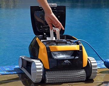 Dolphin E25 Automatischer Schwimmbad-Reinigungsroboter. Handlicher, leichter und einfach zu reinigender Sauger. Ideal für in den Boden eingelassene und auf der Erde aufgestellte Schwimmbecken - 9