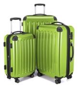 Hauptstadtkoffer Gepäck-Set Alex, TSA, Apfelgrün + Gepäckgurt - 1