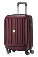 HAUPTSTADTKOFFER - X-Berg - Handgepäck Koffer Trolley Hartschalenkoffer, TSA, 55 cm, 42 Liter, Burgund - 1