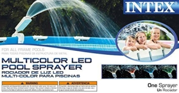 Intex Multi-Color LED Wasserfontäne 28089 - 2