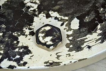 Livitat® Schirmständer 60 x 35 cm Regenschirmständer Hydrant Vintage Blech Metall LV5086 (Weiß) - 5