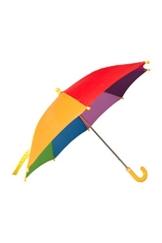 Mountain Warehouse Rainbow Schirm für Kinder - Farbenfroher Sonnenschirm, pflegeleichter Regenschirm - Offen: 40 cm - Für, Garten, Picknick und Veranda Marineblau - 1