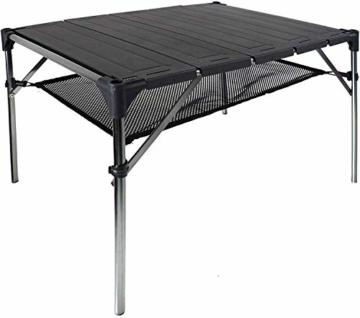 NiceDD Klappbarer Klapp-Camping-Tisch Leichter tragbarer Tisch Kompakter Aluminium-Klapptisch für den Außenbereich - 1