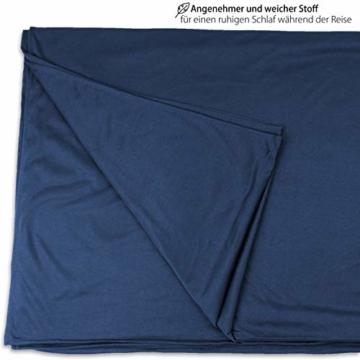 Outdoro Isopeak Reisedecke - 210x155cm - Ultraleichte Decke für Reisen - Geringes Packmaß - weich und atmungsaktiv - 3