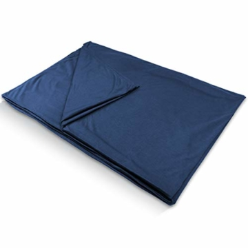Outdoro Isopeak Reisedecke - 210x155cm - Ultraleichte Decke für Reisen - Geringes Packmaß - weich und atmungsaktiv - 8