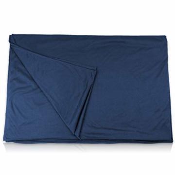 Outdoro Isopeak Reisedecke - 210x155cm - Ultraleichte Decke für Reisen - Geringes Packmaß - weich und atmungsaktiv - 9