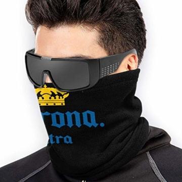 PerterOne Corona Extra Biereimer Outdoor Halswärmer Winddichte Gesichtsmaske Fleece Hood Winterhüte - 2