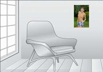 Premium Textil-Leinwand 30 x 45 cm Hoch-Format Gartendusche | Wandbild, HD-Bild auf Keilrahmen, Fertigbild auf hochwertigem Vlies, Leinwanddruck von Andy Bull - 6