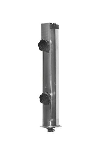 ProKIRA® Sonnen Schirmständer / 25 kg/bis Ø300cm / Granit Balkonschirmständer/eckig (Derzeit leider kein Versand nach Österreich!) - 7