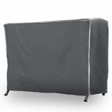 Purovi® Premium Schutzhülle für Hollywoodschaukel | Abdeckung für Gartenschaukel | Oxford Gewebe | Wetterschutz | Wasserdicht | Universal passend 210 x 150 x 150 cm - 1