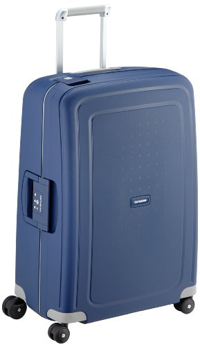 Samsonite S'Cure - Spinner M Koffer, 69 cm, 79 L, Blau (Dark Blue) - 1