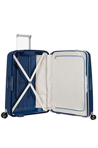 Samsonite S'Cure - Spinner M Koffer, 69 cm, 79 L, Blau (Dark Blue) - 6