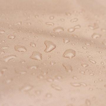 Sekey® Schutzhülle für Ampelschirm/Sonnenschirm,Abdeckhauben für Sonnenschirm, 100% Polyester, Taupe - 8