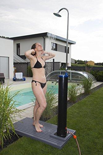 Steinbach Speedshower Solardusche, PVC-Tank 20 l Inhalt, 217 cm Höhe, schwarz, 049010 - 4
