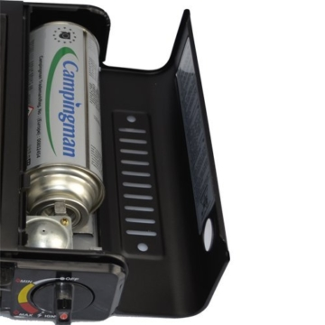 StyleKiste Gaskocher mit 8 Gaskartuschen Campingkocher 1-flammig max. Leistung 2,5 KW - 7