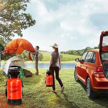 Thrivinger Outdoor Camping Dusche Tragbares Bad Multi-Funktions-Sprayer Reise Bewässerung Autowaschanlage Kleinen Sprayer-5L/8L - 3