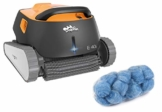 time4wellness Dolphin E40i Poolroboter vollautomatisch mit Transportwagen und Poly Filter Compact Tube 18 Kugeln - 1