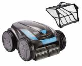 time4wellness Set Zodiac Vortex OV 5480 iQ Poolroboter mit Transportwagen und original Fein Filter 60 µ - 1