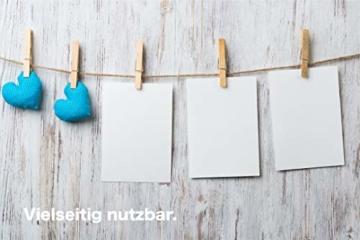 TK Gruppe Timo Klingler 100x Miniklammern - Größe 25 mm Mini Klammer Wäscheklammern Holzklammer aus echten Holz (100x) - 6