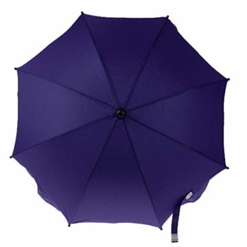 Toygogo Winddicht Sonnenschirm Strandschirm Wasserdicht Regenschirm mit Regenschirmklemme - Lila, wie beschrieben - 6