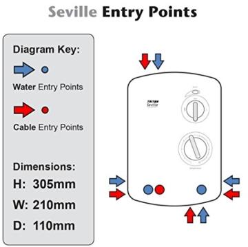 Triton Seville Elektrodusche 10,5kW - 9