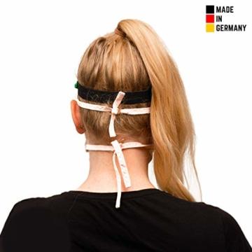 Visier Gesichtsschutz aus Kunststoff - Face Shield - Schutzschild für das Gesicht - Made in Germany - 3
