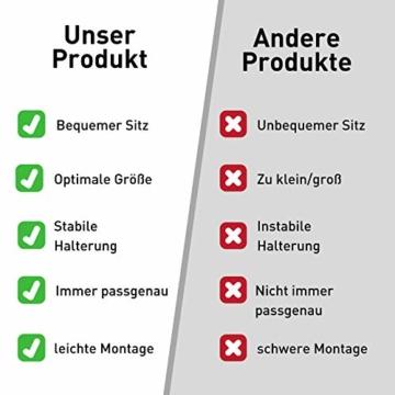 Visier Gesichtsschutz aus Kunststoff - Face Shield - Schutzschild für das Gesicht - Made in Germany - 8