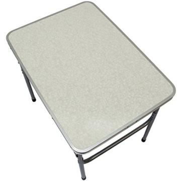 AMANKA Campingtisch 75x50cm - Klapptisch Beistelltisch Falttisch leicht stabil - 6